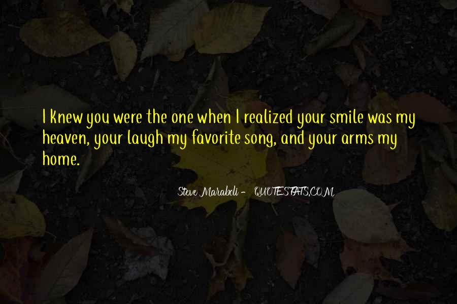 Heaven In Your Arms Quotes #114900