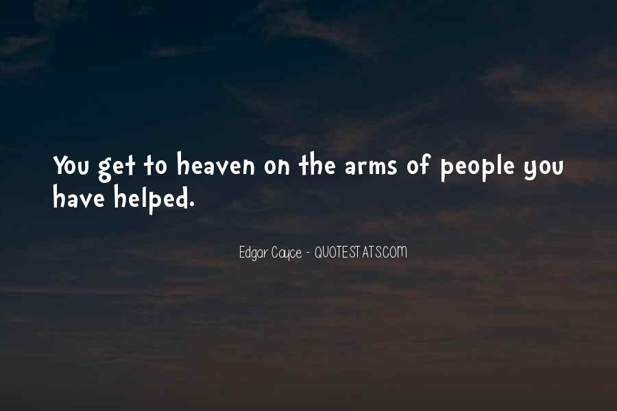 Heaven In Your Arms Quotes #1529815