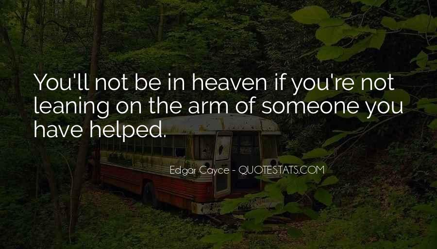 Heaven In Your Arms Quotes #164069