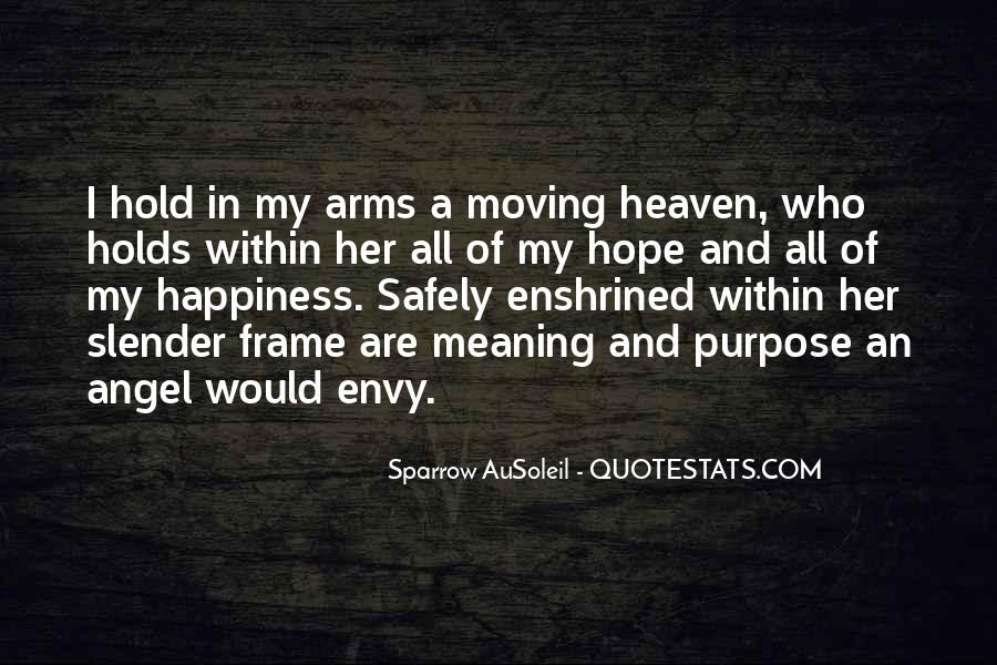 Heaven In Your Arms Quotes #913031
