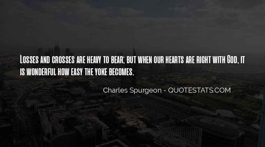 Heavy Heart Loss Quotes #1026683