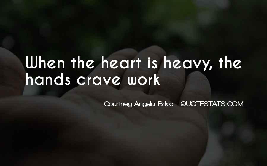 Heavy Heart Loss Quotes #62357