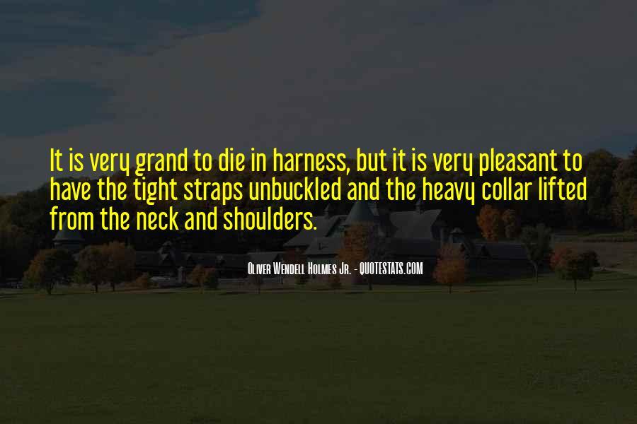 Heavy Shoulders Quotes #1277628