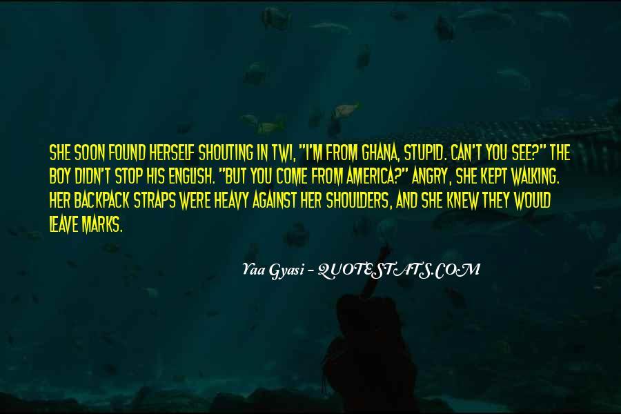 Heavy Shoulders Quotes #332002