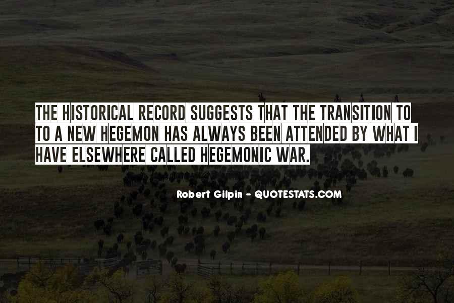 Hegemon Quotes #1656704