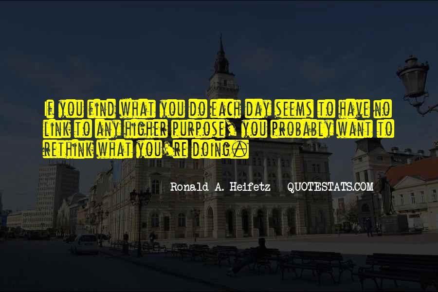Heifetz Quotes #1200419