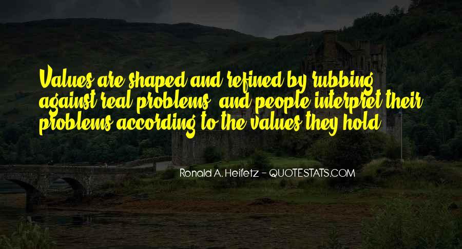 Heifetz Quotes #1456935