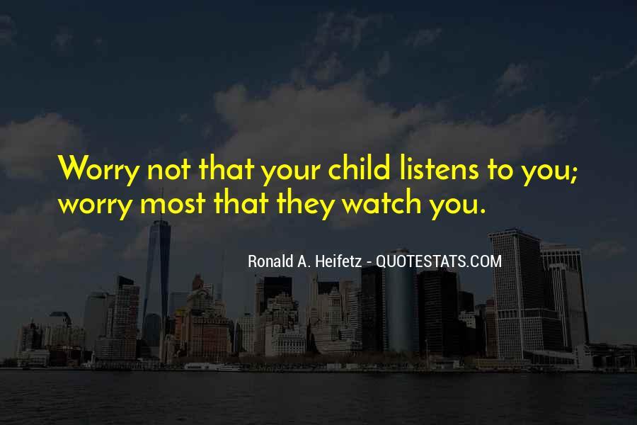 Heifetz Quotes #236039