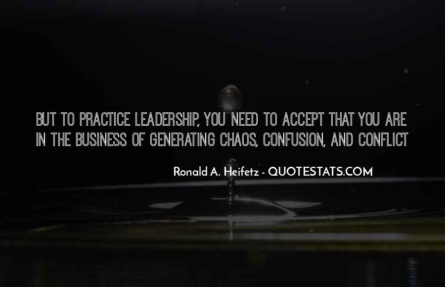 Heifetz Quotes #398280