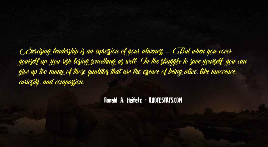 Heifetz Quotes #448247