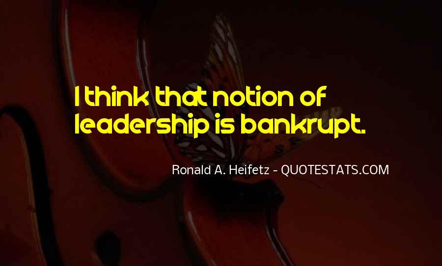 Heifetz Quotes #542053