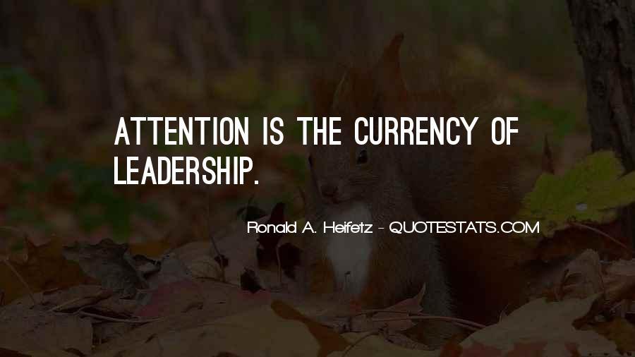 Heifetz Quotes #650778
