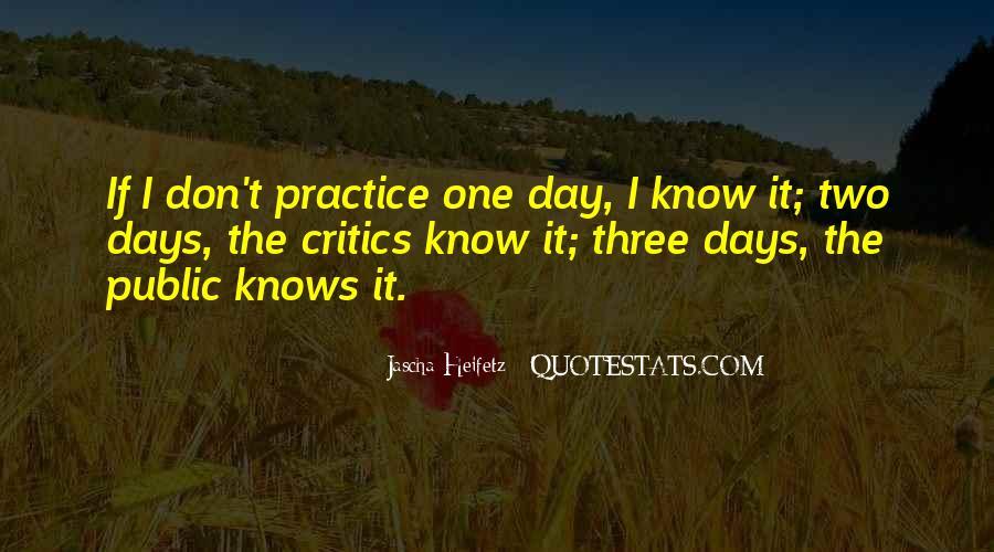Heifetz Quotes #868093