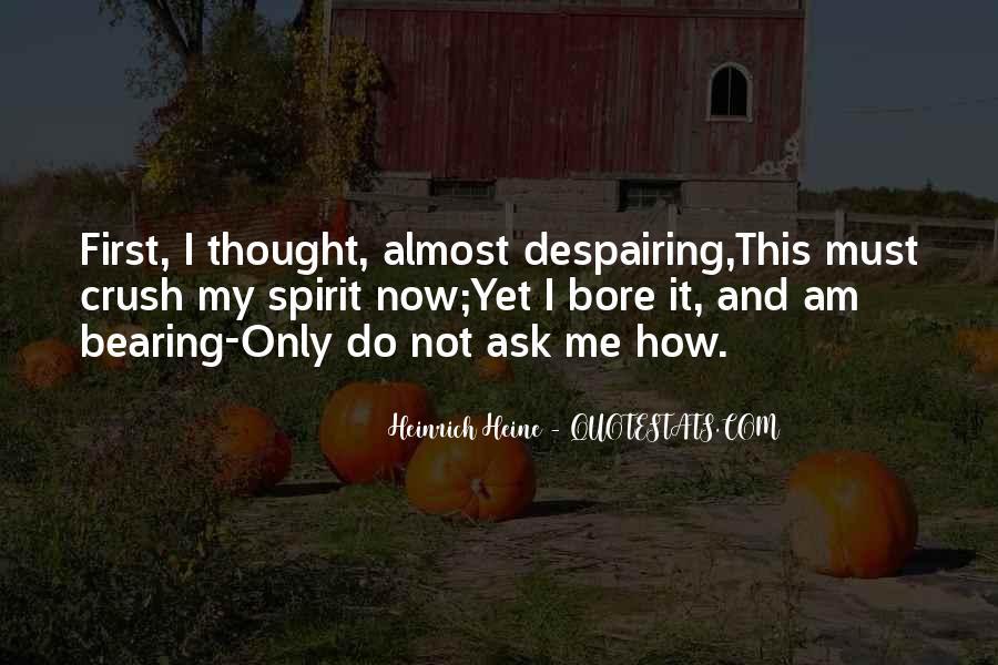 Heine Poetry Quotes #139054