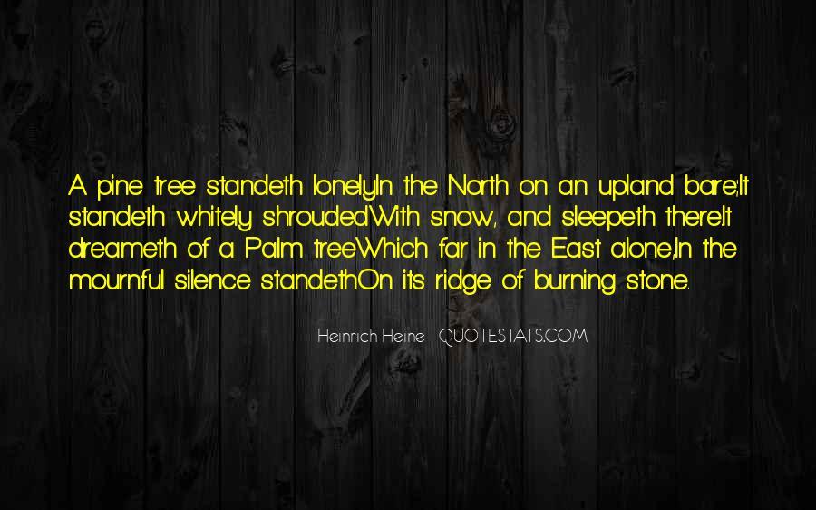Heine Poetry Quotes #1566597
