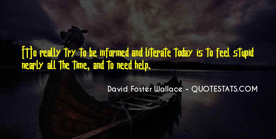 Help In Time Of Need Quotes #1529727