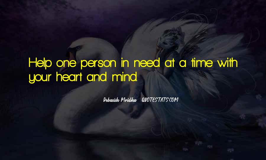 Help In Time Of Need Quotes #757477