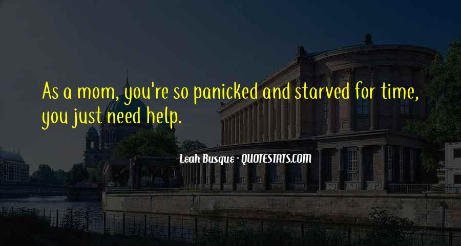Help In Time Of Need Quotes #816393