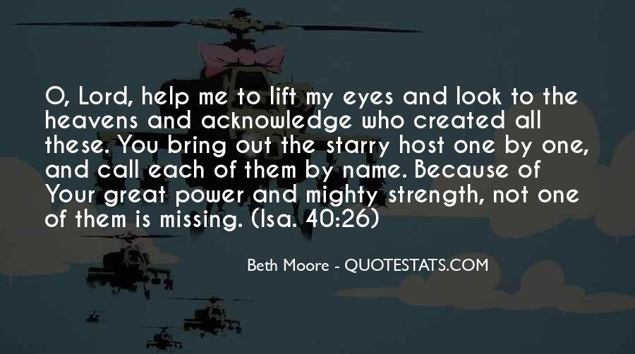 Help Me Oh Lord Quotes #146553