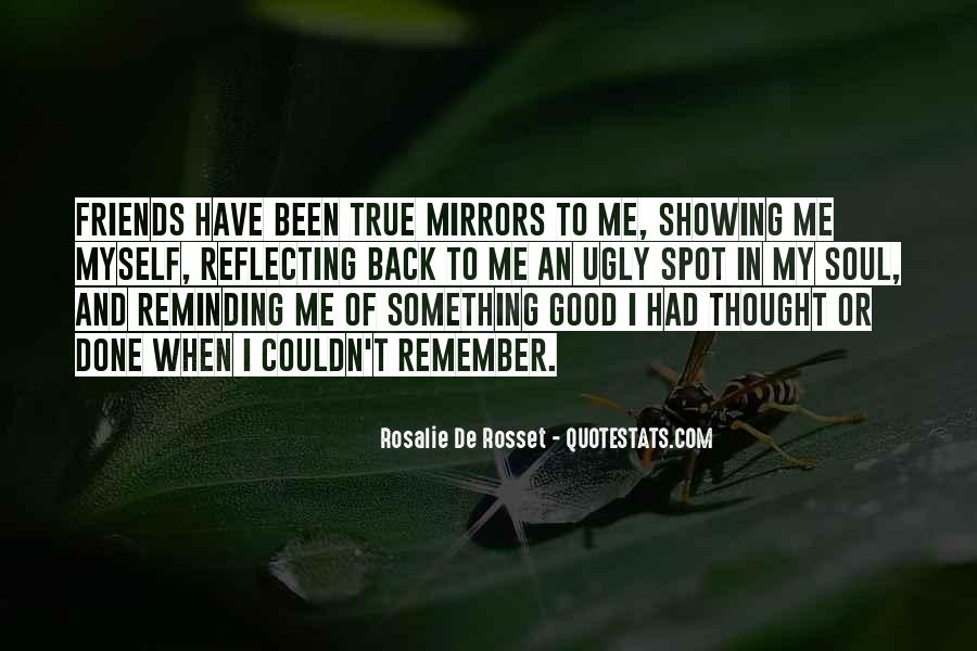 Quotes About Friends And Mirrors #1564324