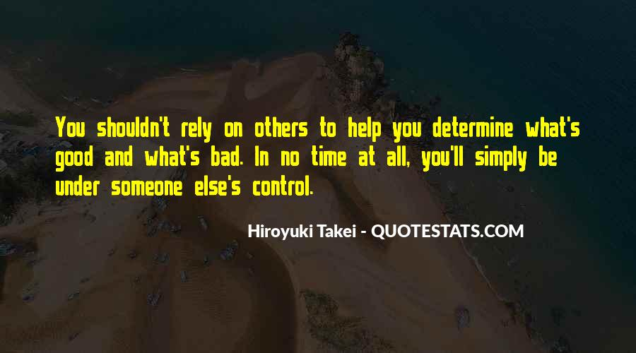 Helping Someone Else Quotes #1258578