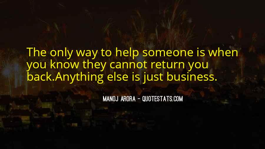 Helping Someone Else Quotes #1303348
