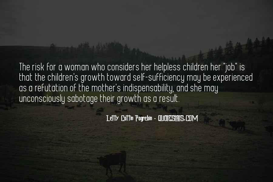 Helpless Mother Quotes #1570805