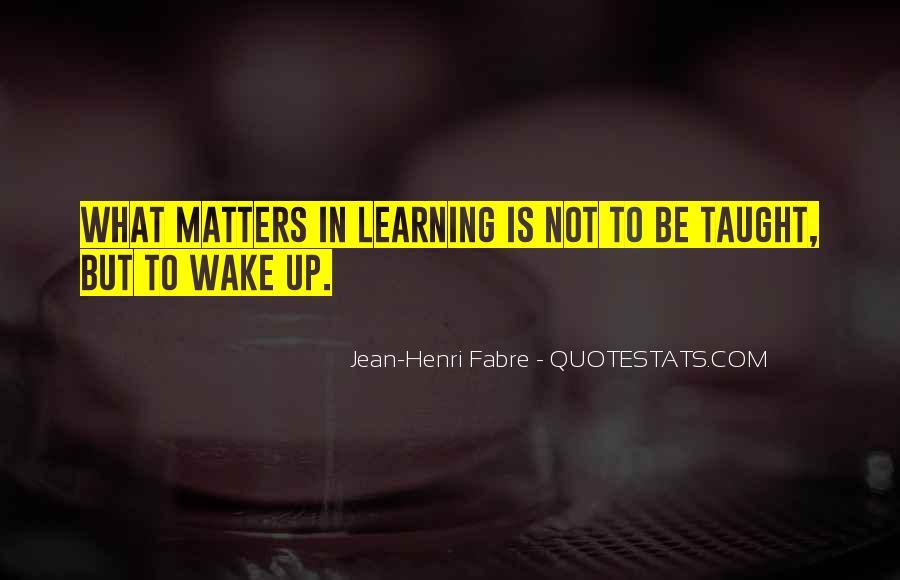 Henri Fabre Quotes #917770