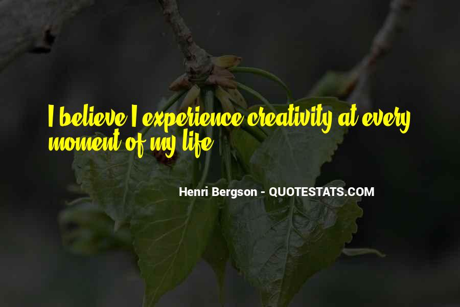 Henri L Bergson Quotes #262158