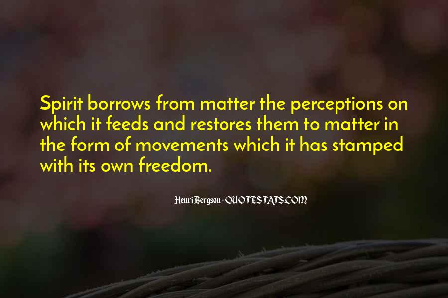 Henri L Bergson Quotes #26394