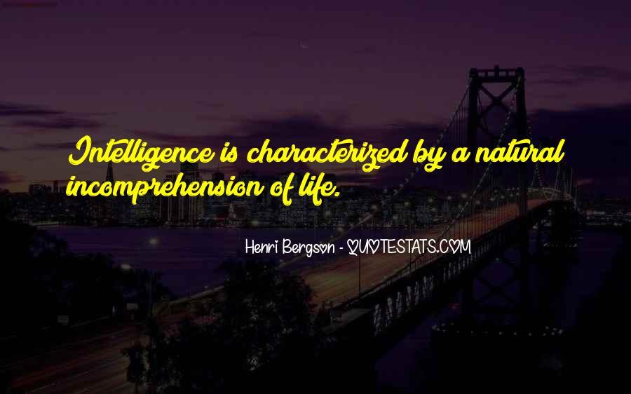 Henri L Bergson Quotes #28918