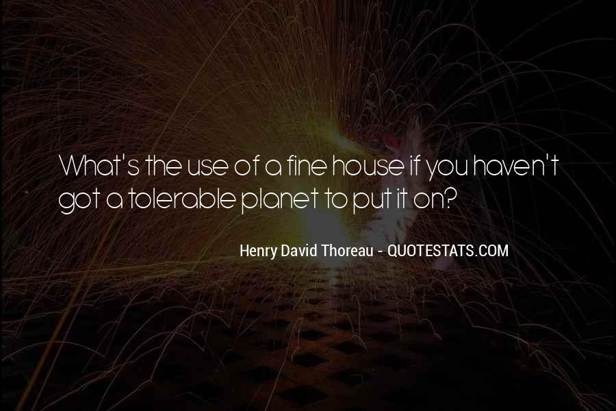 Henry David Thoreau Environment Quotes #1303966