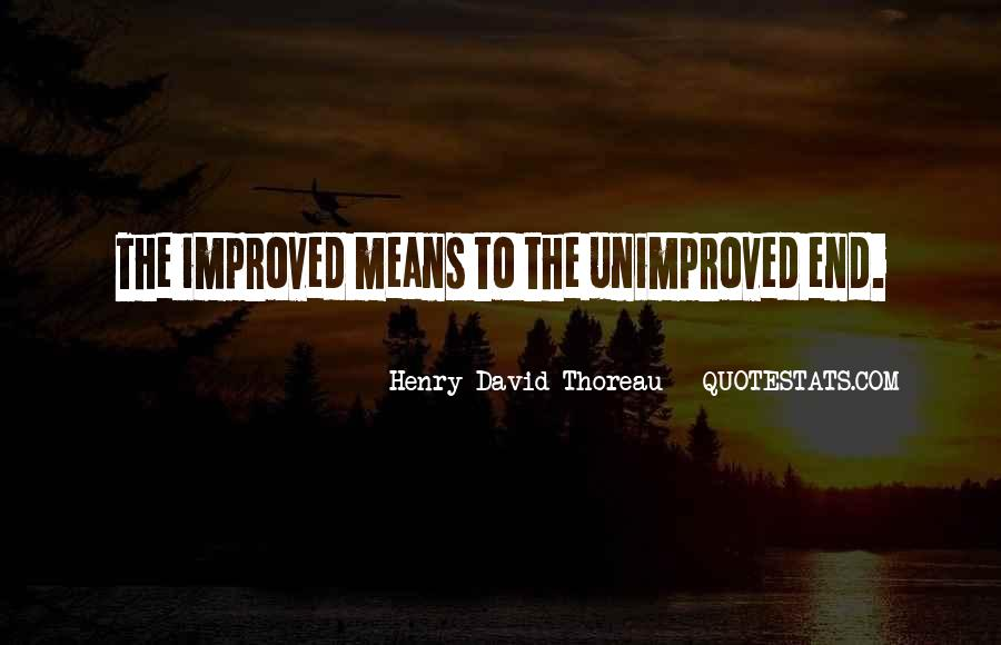 Henry David Thoreau Environment Quotes #1340678