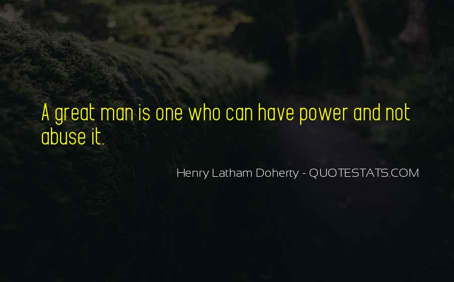 Henry Doherty Quotes #1592682