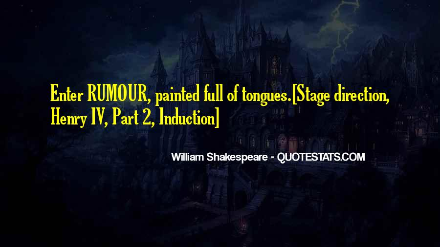 Henry Iv Part Quotes #1207139