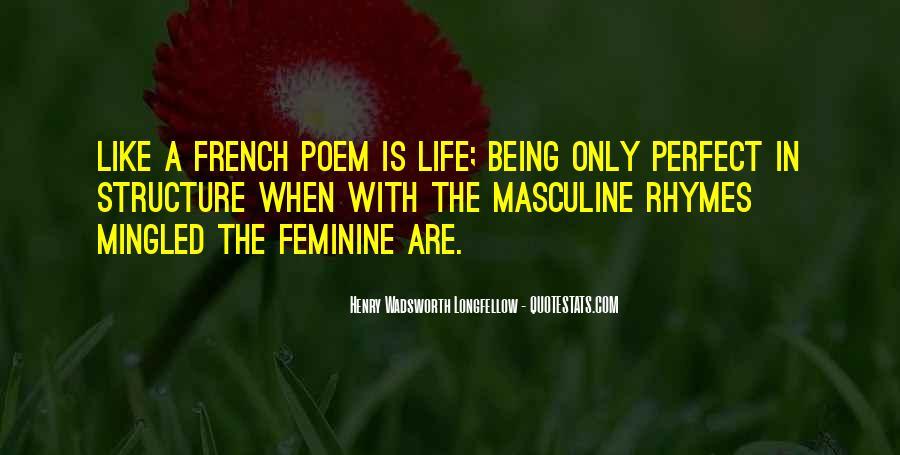 Henry Wadsworth Longfellow Poem Quotes #714353