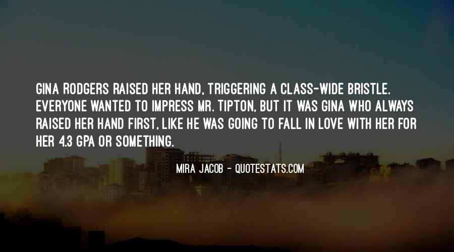 Her First Love Quotes #118132
