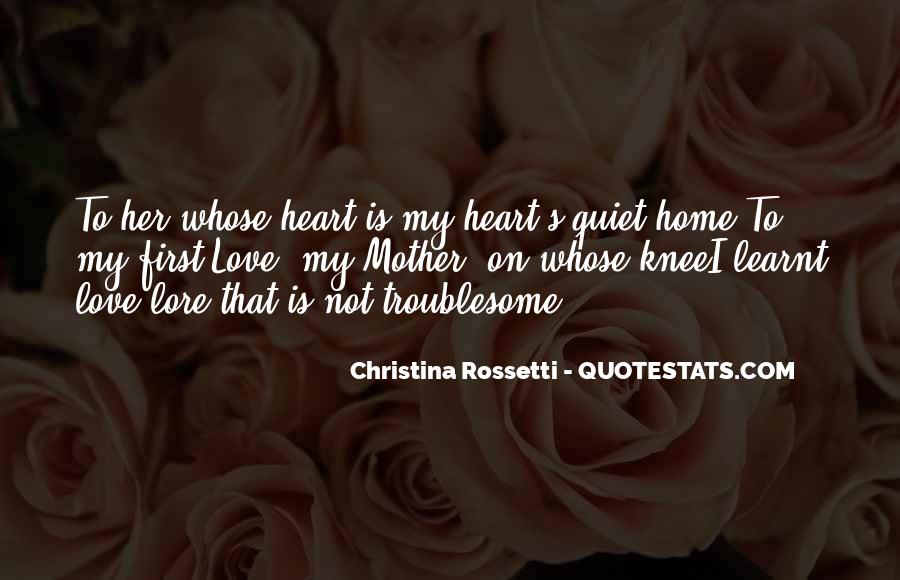 Her First Love Quotes #127686