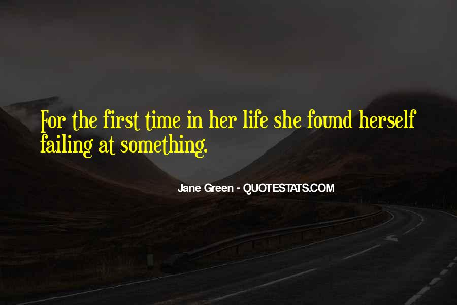 Her First Love Quotes #154585