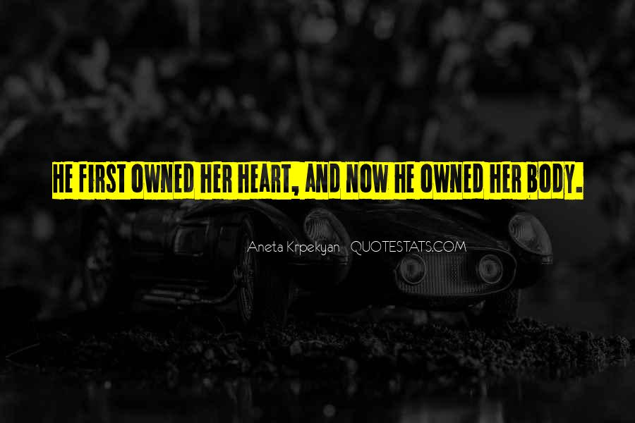 Her First Love Quotes #170399