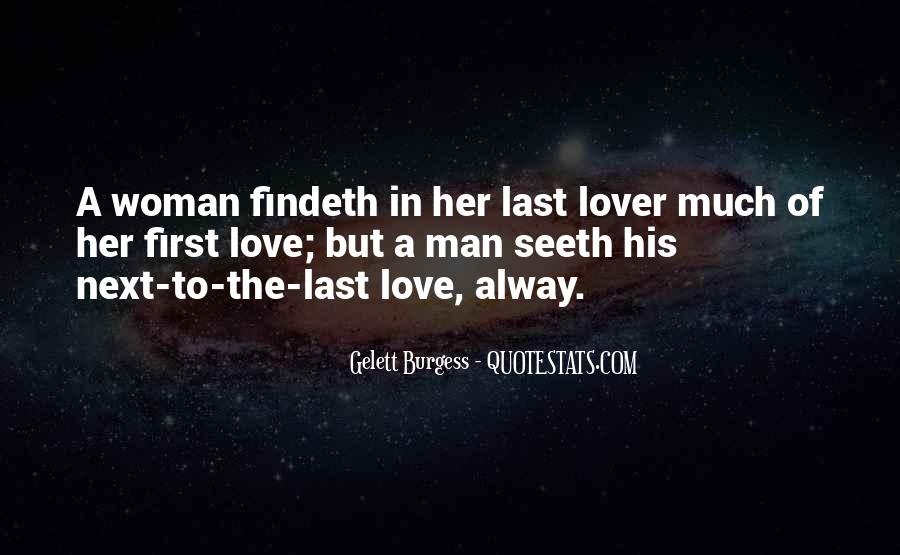 Her First Love Quotes #174260