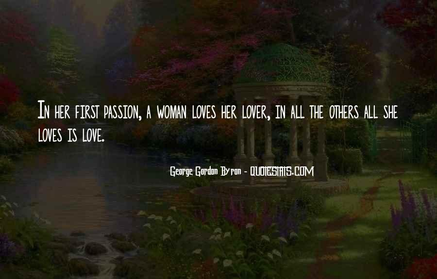 Her First Love Quotes #288402