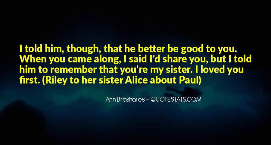 Her First Love Quotes #31545