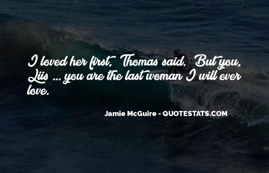 Her First Love Quotes #397402