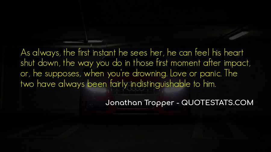 Her First Love Quotes #417957