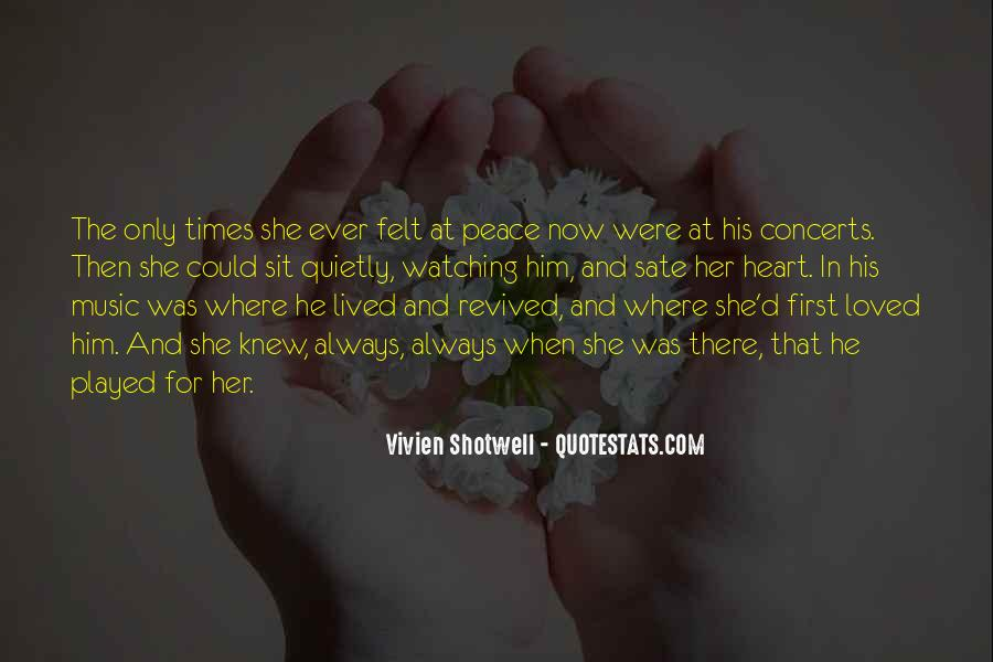 Her First Love Quotes #476329