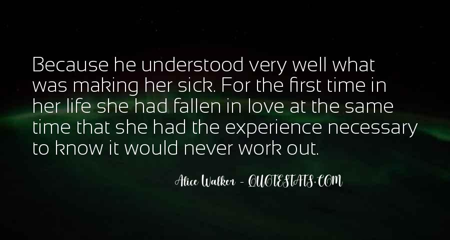 Her First Love Quotes #521344
