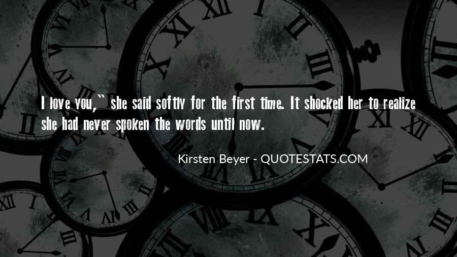 Her First Love Quotes #95562