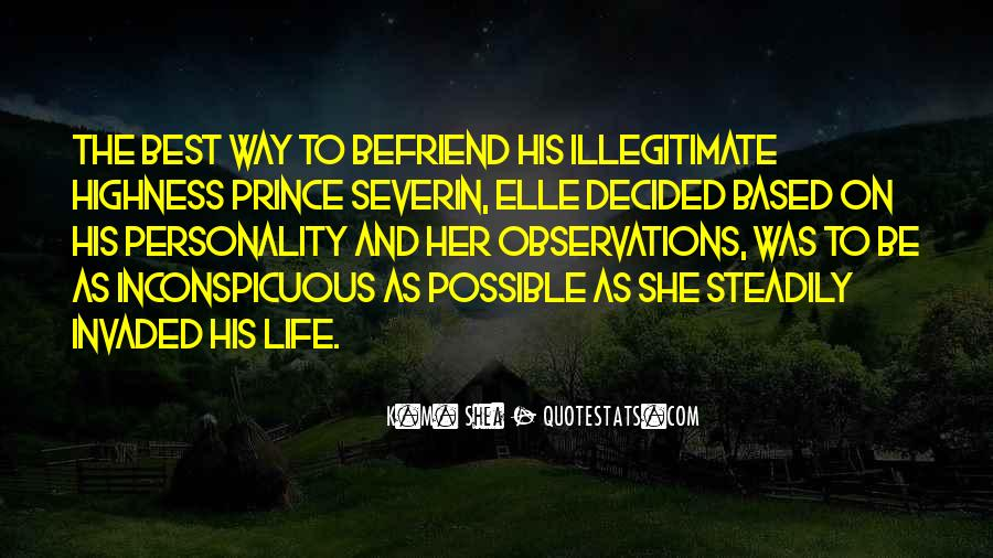 Her Highness Quotes #1291292