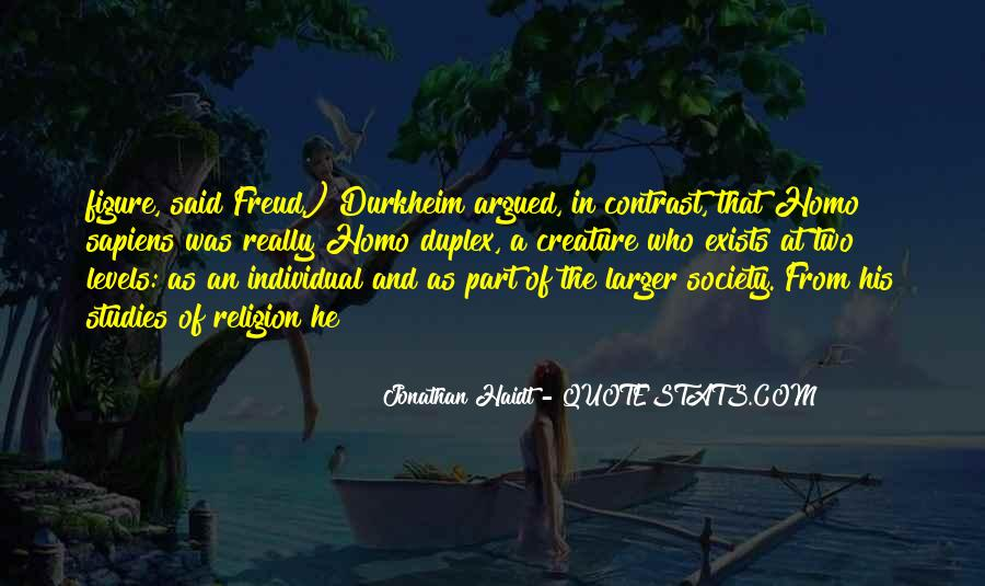 Quotes About Freud Religion #1270830